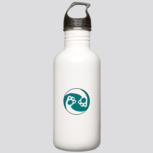 animal paws in a circl Stainless Water Bottle 1.0L