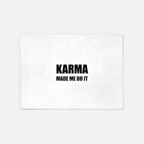 Karma Made Me Do It 5'x7'Area Rug