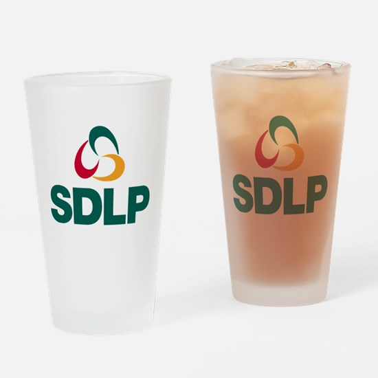 SDLP Logo Drinking Glass