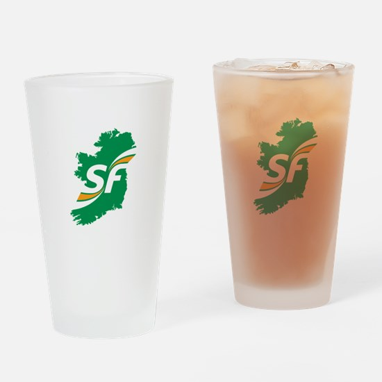 Sinn Fein Logo Drinking Glass