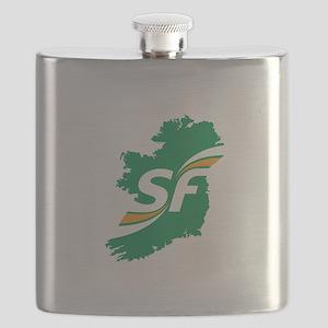 Sinn Fein Logo Flask