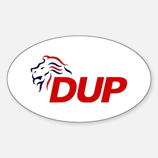DUP Logo 2017 Sticker (Oval)