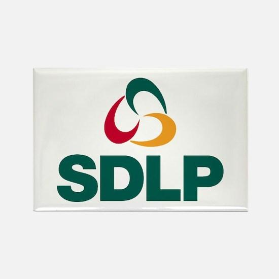 SDLP Logo Rectangle Magnet