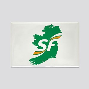 Sinn Fein Logo Rectangle Magnet
