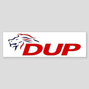 DUP Logo 2017 Sticker (Bumper)