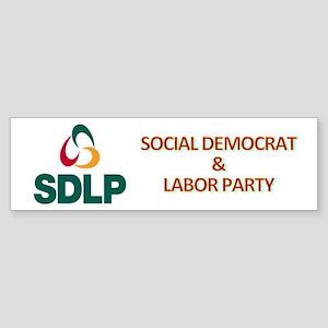 SDLP Logo Sticker (Bumper)