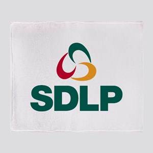 SDLP Logo Throw Blanket