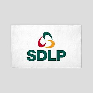 SDLP Logo Area Rug