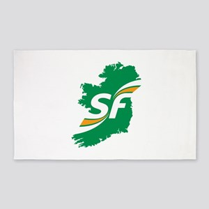Sinn Fein Logo Area Rug