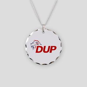 DUP Logo 2017 Necklace Circle Charm