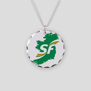 Sinn Fein Logo Necklace Circle Charm