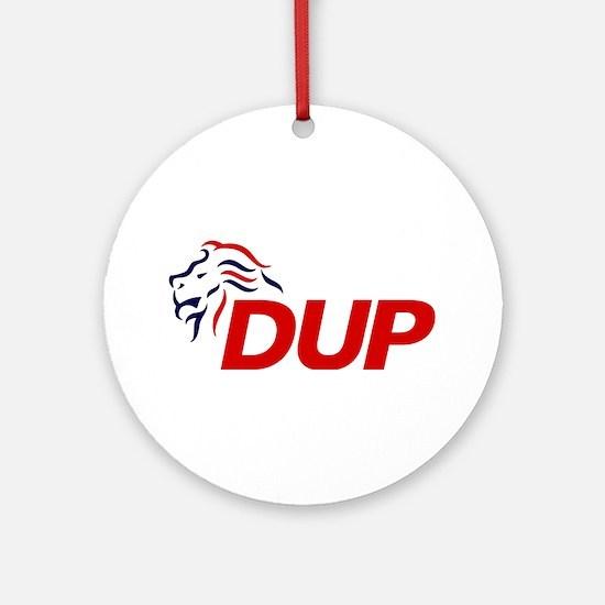 DUP Logo 2017 Round Ornament