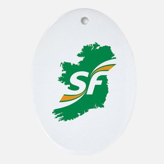 Sinn Fein Logo Oval Ornament