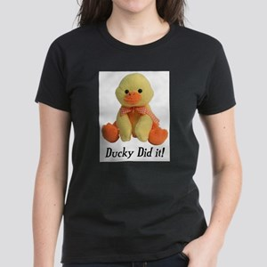 Ducky Did it! Ash Grey T-Shirt