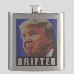 Trump Grifter Flask