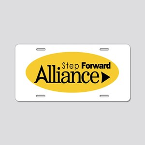 Alliance Party Logo Aluminum License Plate