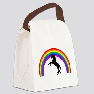 Unicorn Canvas Lunch Bag