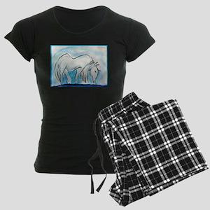 Horse, animal art! Pajamas