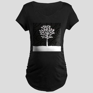 Love Tree Maternity Dark T-Shirt