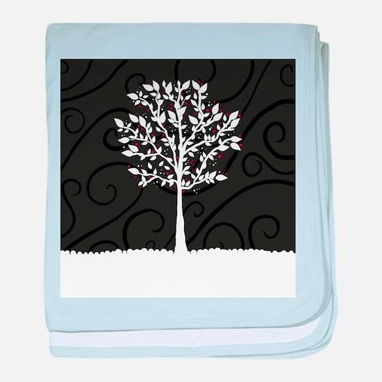 Love Tree baby blanket