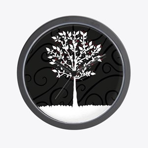 Love Tree Wall Clock