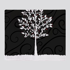 Love Tree Throw Blanket
