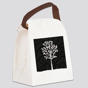 Love Tree Canvas Lunch Bag