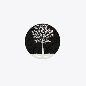 Love Tree Mini Button