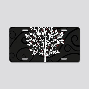 Love Tree Aluminum License Plate