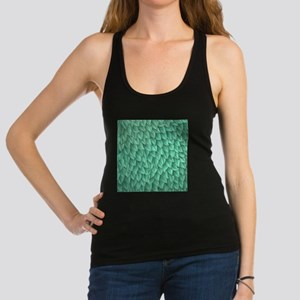 Abstract Leaves Racerback Tank Top
