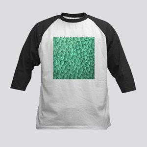 Abstract Leaves Kids Baseball Jersey