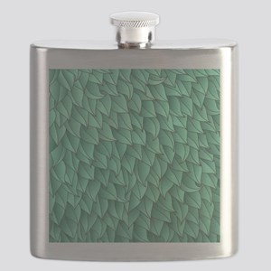 Abstract Leaves Flask
