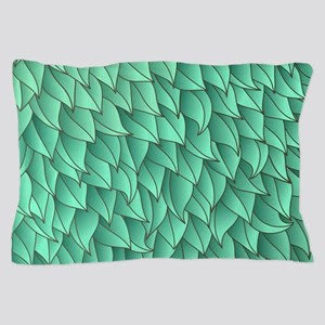 Abstract Leaves Pillow Case