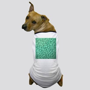 Abstract Leaves Dog T-Shirt