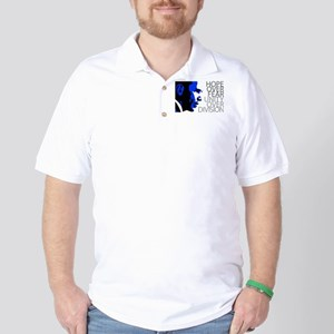 obama_blue_grey_division Golf Shirt