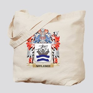 Applebee Coat of Arms - Family Crest Tote Bag