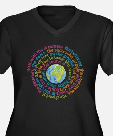 Walk with the dreamers Plus Size T-Shirt