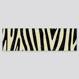 SKIN4 BLACK MARBLE & BEIGE LINEN Sticker (Bumper)