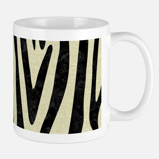 SKIN4 BLACK MARBLE & BEIGE LINEN Mug