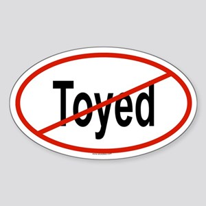 TOYED Oval Sticker
