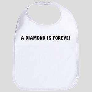 A diamond is forever Bib