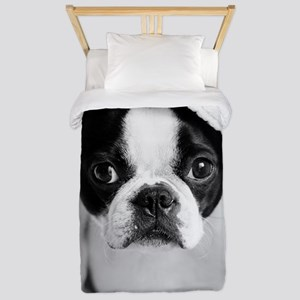 Boston Terrier Twin Duvet