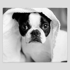 Boston Terrier King Duvet