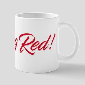 Go Big Red! Mugs