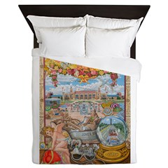Jones Beach Love Story Queen Duvet