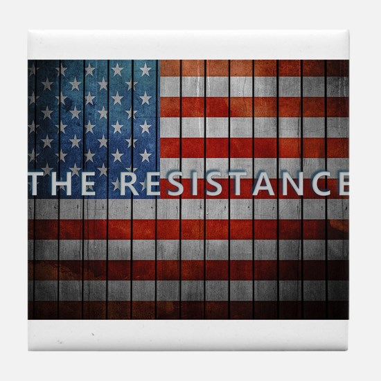 The Resistance Tile Coaster