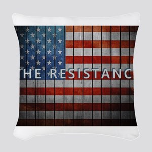 The Resistance Woven Throw Pillow