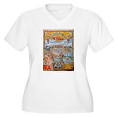 Jones Beach Love Story Plus Size T-Shirt