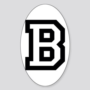 College B Sticker (Oval)