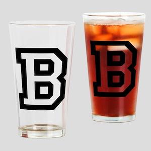 College B Drinking Glass